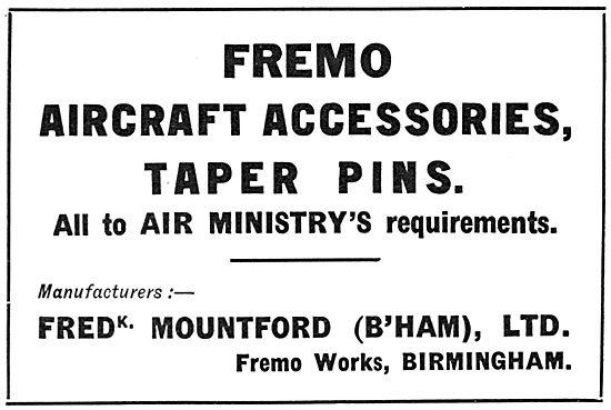 Frederick Mountford Fremo Taper Pins