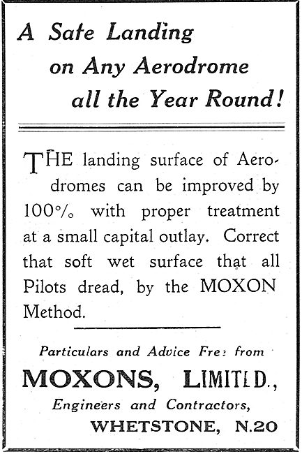 A Safe Landing All Year Round With Moxons Airfield Surfaces
