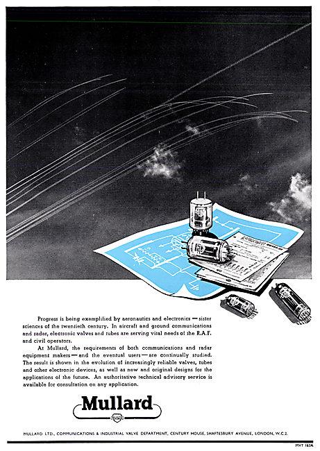 Mullard Aeronautics & Electronics Radio & Radar Devices