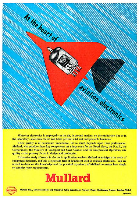 Mullard Electronics - Aviation Radio Radar