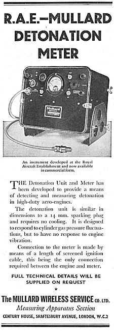 Mullard Wireless Service - R.A.E. Detonation Unit & Meter