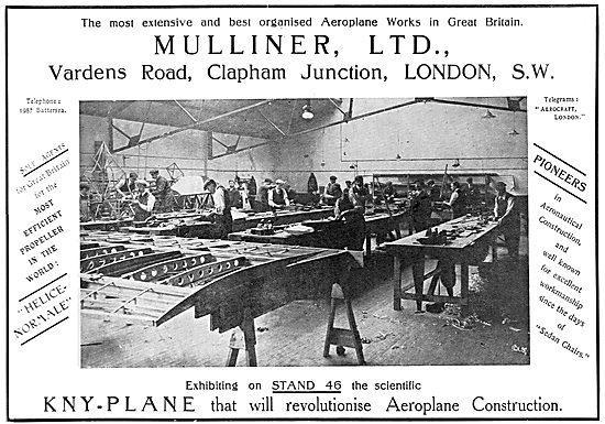 Mulliner Ltd. KNY-Plane