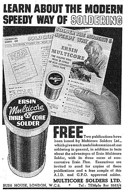 Multicore Solder - Ersin