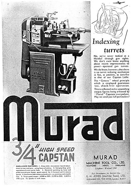 Murad Machine Tools