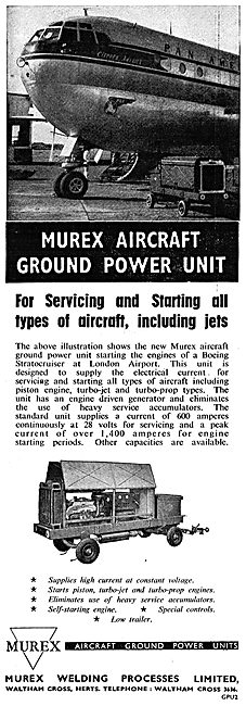 Murex Aircraft Ground Power Units