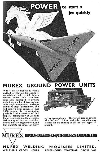 Murex Aircraft Ground Power Units - GPU
