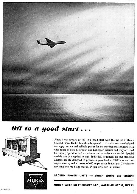 Murex Aircraft Ground Power Units GPU