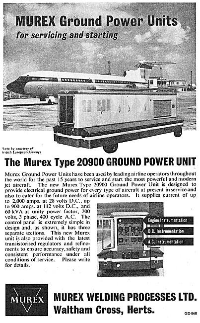 Murex Type 20900 Ground Power Unit - MUREX GPU