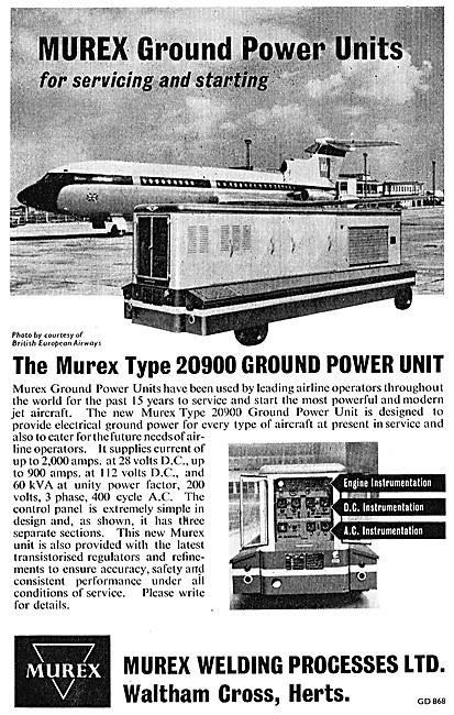 Murex Ground Power Units - Murex GPU