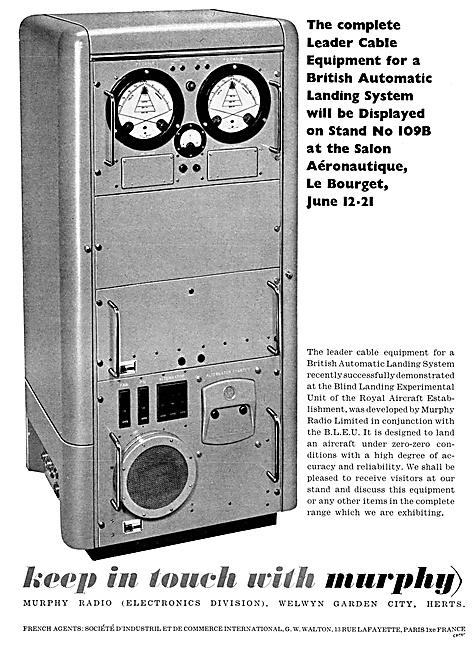 Murphy Radio. Airfield ILS Equipment