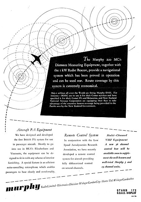 Murphy Radio Ltd: Radio & Radar Aids