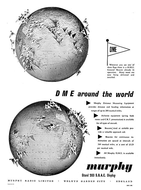 Murphy Radio DME Equipment For Aircraft