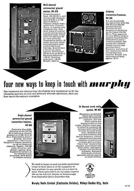 Murphy Aeronautical Ground Radio Systems