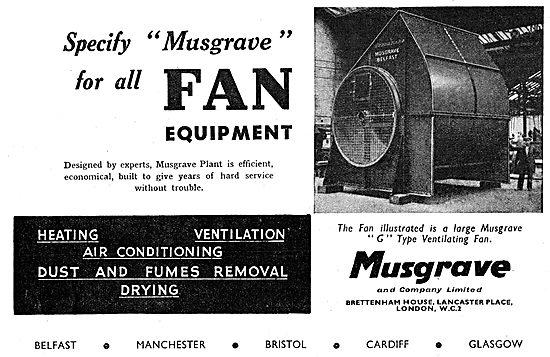Musgrave G Type Ventilating Fan