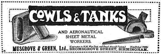 Musgrove & Green - Aeronautical Sheet Metal Workers