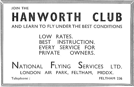 National Flying Services Hanworth Flying Club