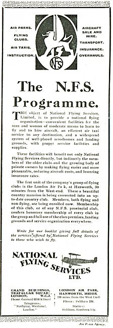 The National Flying Services Programme