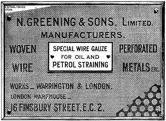 N.Greening & Sons.Wire & Gauze Manufacturers