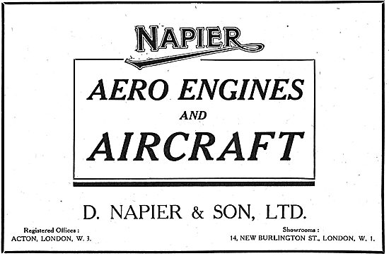 Napier Aero Engines & Aircraft
