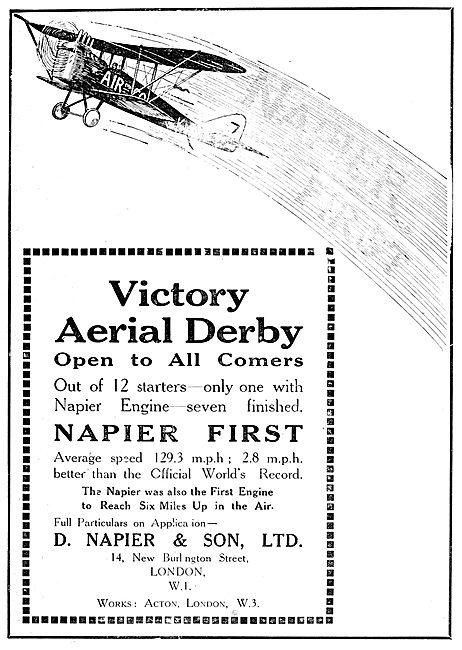 Napier Aero Engines - Aerial Derby
