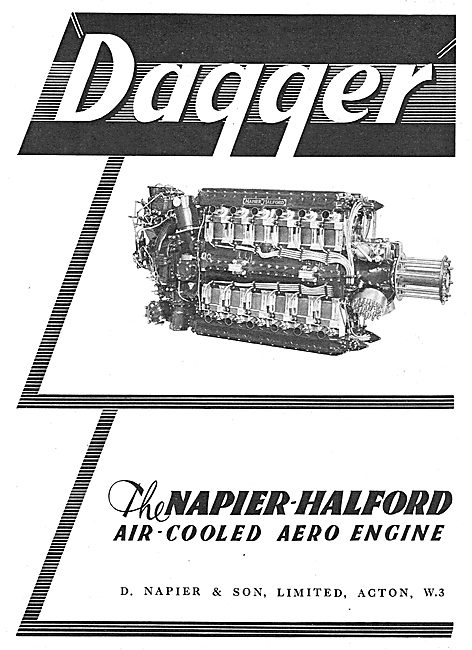 Napier-Halford Dagger Aero Engine