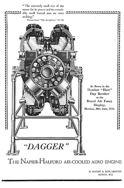 Napier Dagger Aero Engine
