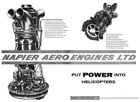 Napier Aero Engines 1962