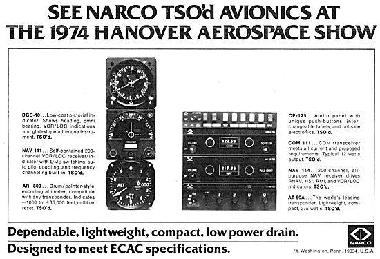 Narco Avionics 1974 IFR  Range