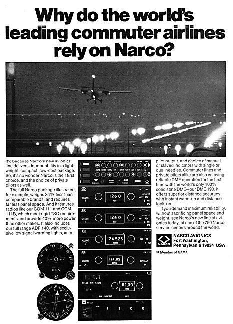Narco Avionics 1975