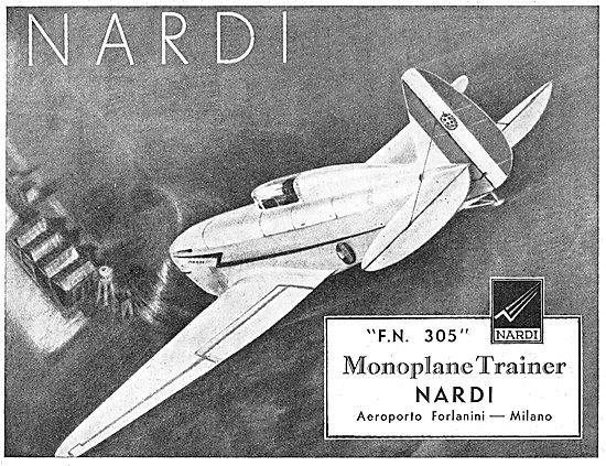 Nardi FN 305 Monoplane Trainer