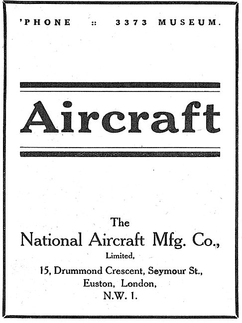 National Aircraft Manufacturing. Manufacturers Of Aircraft Parts