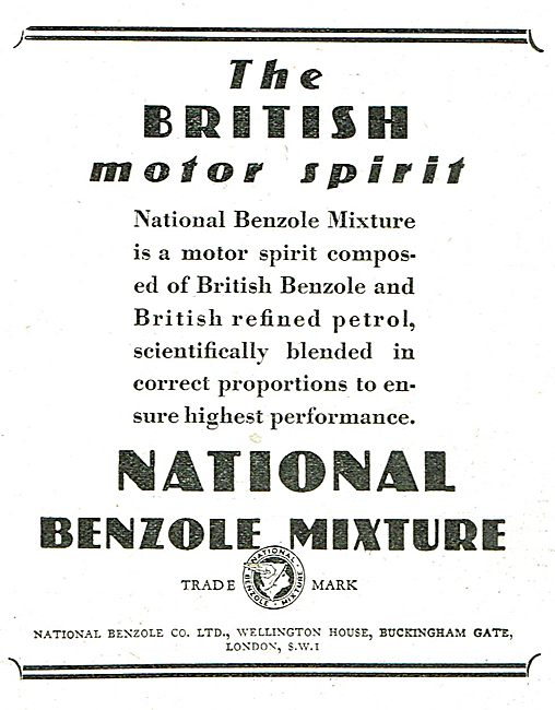 National Benzole - The British Motor Spirit