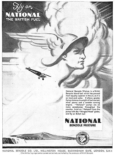 National Benzole  Aviation Fuel