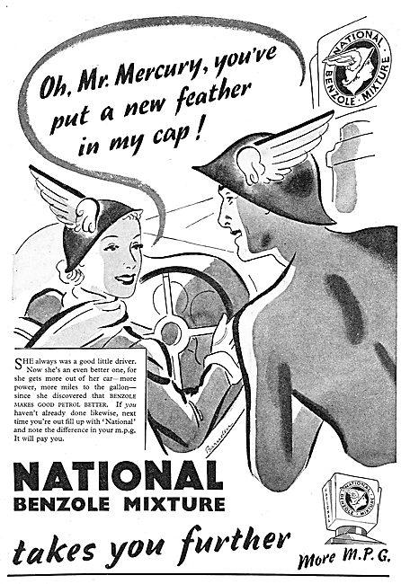 National Benzole - Mr Mercury