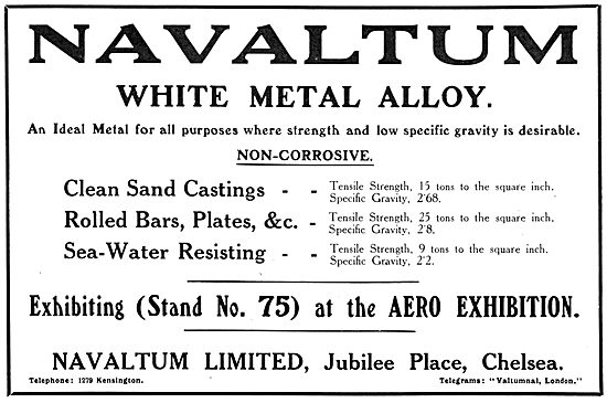 Navaltum White Metal Alloy