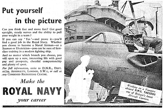 Royal Navy Recruitment - Seamen & Aircrew