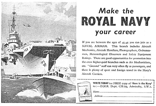 Royal Navy Recruitment - Naval Airman