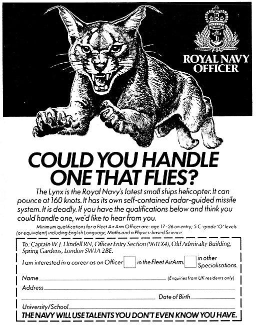 Royal Navy Recruitment Aircrew