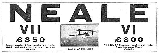 The Neale VII Biplane £850