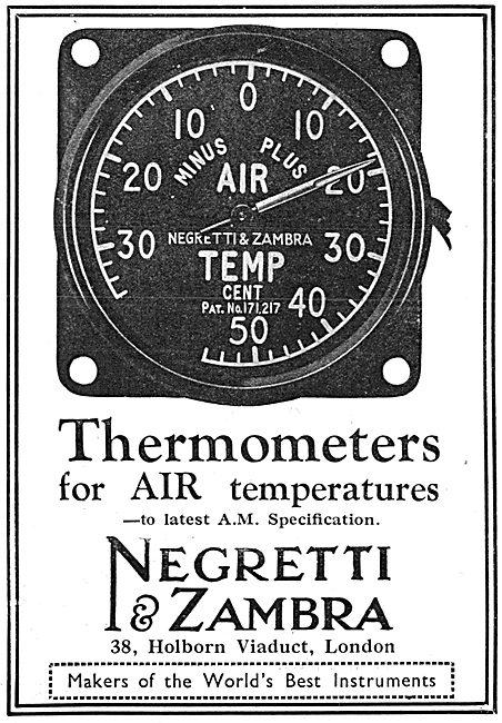 Negretti & Zambra Aircraft Instruments