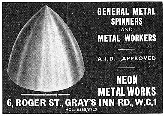 Neon Metal Works. Metal Spinners & Metal Workers