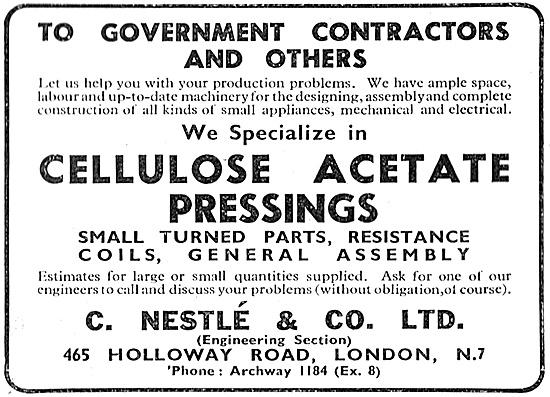 C.Nestle Cellulose & Acetite Pressings