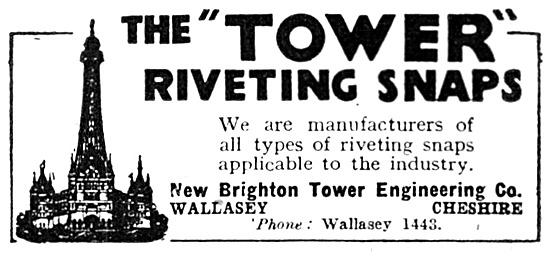 New Brighton Tower Engineering. Wallasey Riveting Snaps