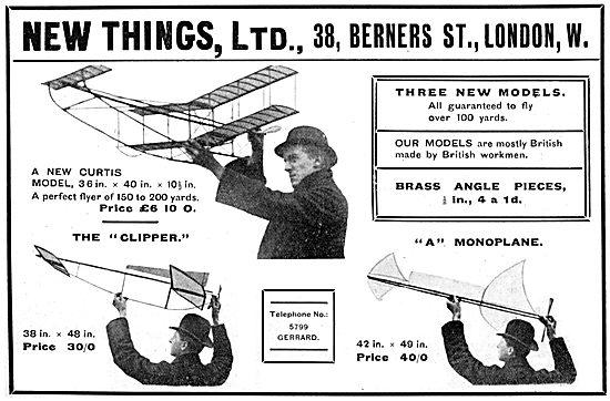 New Things Ltd. Aircraft Models, Supplies & Sundries