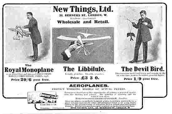 New Things Ltd - Wholesale & Retail Aeroplane Models