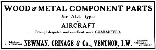 Newman Crinage - Aircraft Component Manufacturers