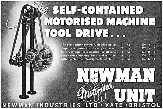 Newman Industries Motorised Machine Tool Drive