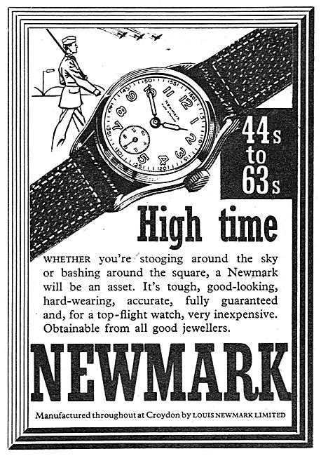 Louis Newmark Wrist Watches - Newmark High Time Watches