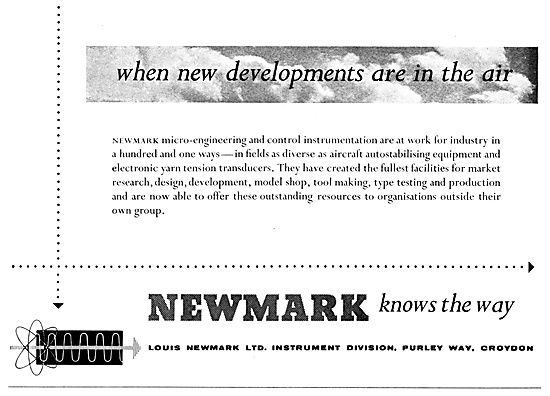 Newmark Instruments, Controls & Flight Systems