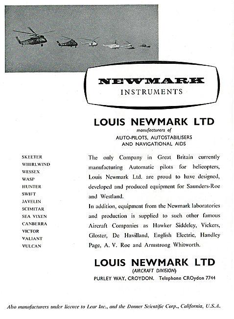 Louis Newmark - Auto Pilots, Autostabilisers & Navigation Aids
